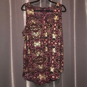 Torrid Long Tank Top Size 1